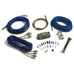Kicker ZCK84 Complete 8 Gauge Z-Series 4-Channel Amplifier Install Kit w/ RCA Interconnect Cable [09ZCK84]