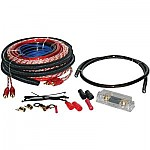 Sound Quest SQK4ANL 4 Gauge CCA ANL Amplifier Kit - Complete Installation Wiring Hardware w/ Fuseholder
