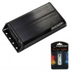 Kicker PXIBT1002 PX Series Amp 2-Channel Bluetooth Powersport Amplifier Package with 4-Gauge Ring Terminal