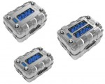 Power Acoustik CAPCELL-600 Car Audio 600 Amp Capacity Capacitor w/ LED Display