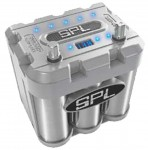 SPL SBT-800 16-Volt High Current Car Audio Power Cell with Blue Illumination 800 Amps