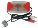 Pyle Car Stereo PLDN37R iPod Direct To RCA Stereo Audio Ground Loop Isolator/ Audio Line Driver