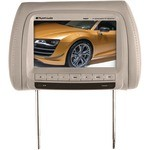 """Planet Audio PHR9T 9.2"""" Universal Headrest TFT Monitor with Built-in IR Transmitter Tan (Single Unit)"""