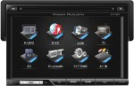 """Power Acoustik PD-710BT 7"""" LCD Touch Screen Single DIN Multimedia Source Unit with Bluetooth V2.0 & Analog TV Tuner"""