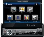"""Power Acoustik PTID-8920B 7"""" In-Dash Source Unit with Blue Tooth 2.0"""