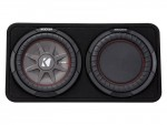 """Kicker Car Audio 43TCWRT104 10"""" CompR Series Sub 400W RMS 4 Ohm Thin Profile Loaded Subwoofer Enclosure - New"""