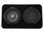 "Kicker Car Audio 43TCWRT82 8"" CompR Series Sub 300W RMS 2 Ohm Thin Profile Loaded Subwoofer Enclosure - New"