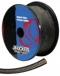 Kicker PWB8200 8 Gauge Hyper-Flex Power Wire Interconnect Cable with Blue Jacket (PWB8200)