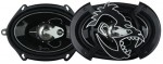 "SPL AS-573 250 Watts 3-Way 5""x7"" Full Range Speaker with Polymide Midrange Tweeter & Gorilla Grills"