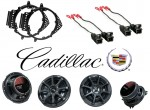 Kicker Package Cadillac Escalade 07-12 Factory Coaxial Speaker Replacement KS650 & KS5250