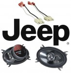 """Kicker Package Jeep Wrangler YJ 1987-1995 KS460 Factory 4x6"""" Front Coaxial Replacement Speaker Pair"""