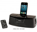 Kicker iKick100 iPod & iPhone Home Audio Stereo Dock Speakers w/ Auxiliary Input