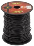 Stinger SPW314BK 14 Gauge Black Power Wire (5-Foot Increments)