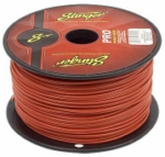 Stinger SPW316RD 16 Gauge Red Speaker Wire (5-Foot Increments)