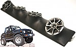 "Suzuki Samurai Kicker Package KS525 Custom Quad (4) 5 1/4"" Speaker Sound Bar Pod"