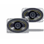 """Kicker DS460 4x6"""" Speakers Coaxial DS Series 25 Watts RMS [07DS460]"""