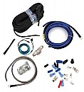 RE Audio WK-0A Premium 2-Channel 0-Gauge Amp Amplifier Wiring Install Kit (WK0A)